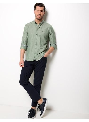 Pierre Cardin Klasik Gömlek Yeşil